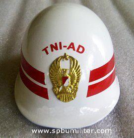 helm miniatur tni