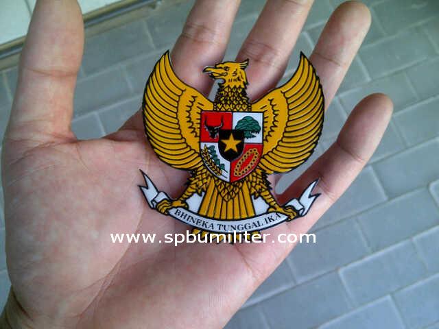 stiker burung garuda