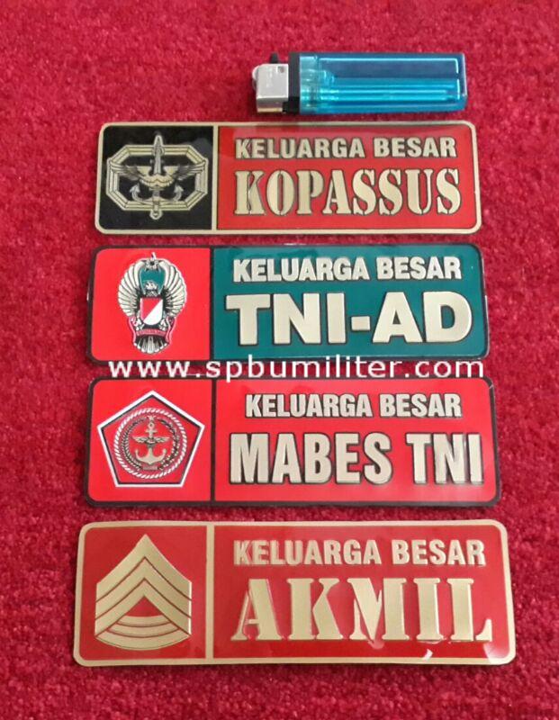 stiker keluarga bahan aluminium new