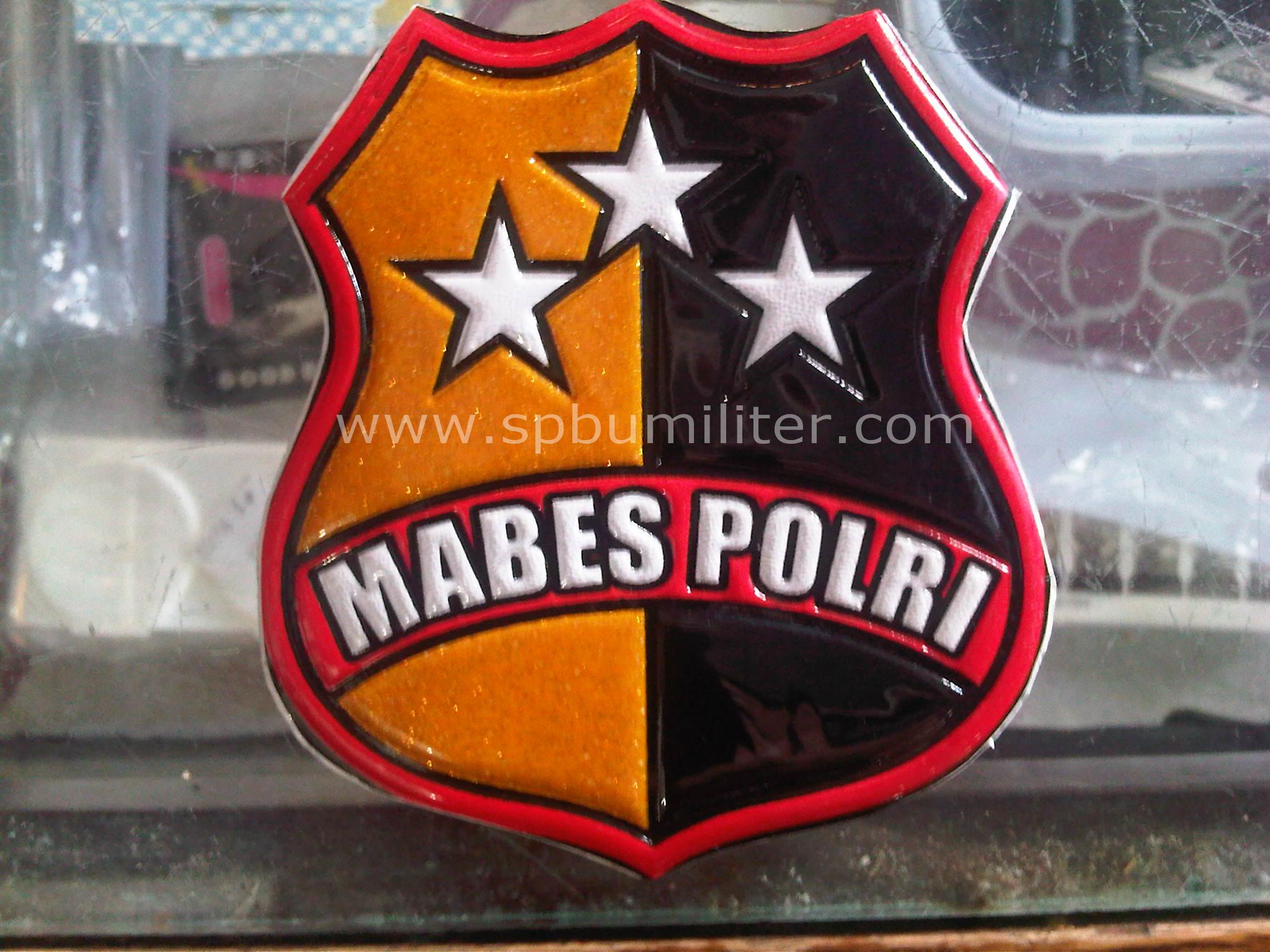 stiker mabes polri
