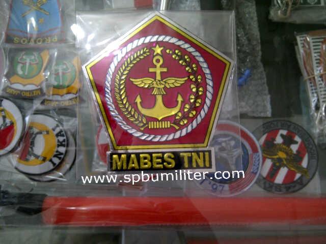 stiker mabes tni