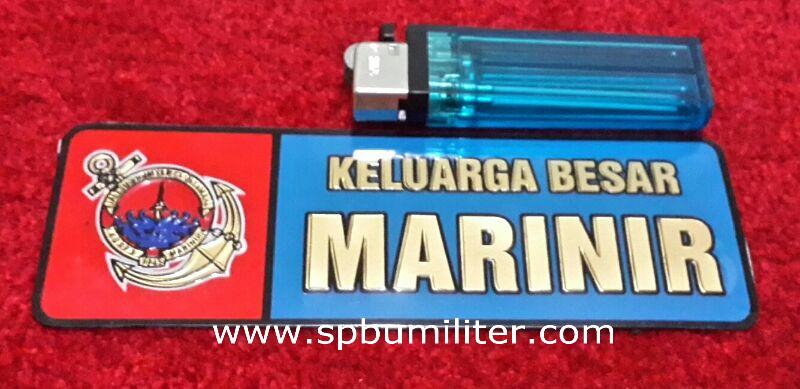 stiker marinir keluarga