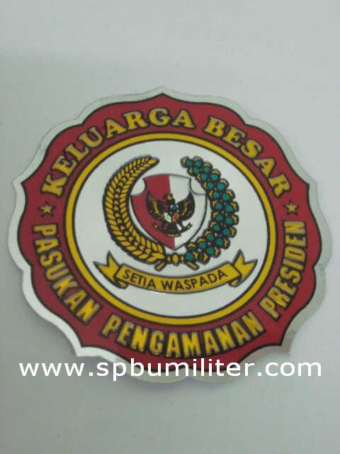 stiker paspampres aluminium
