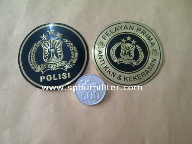 stiker polisi