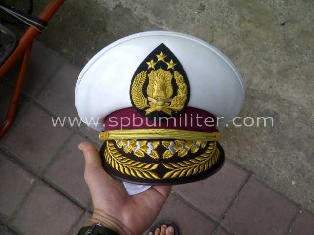 topi dinas perwira tinggi polantas asli jatah