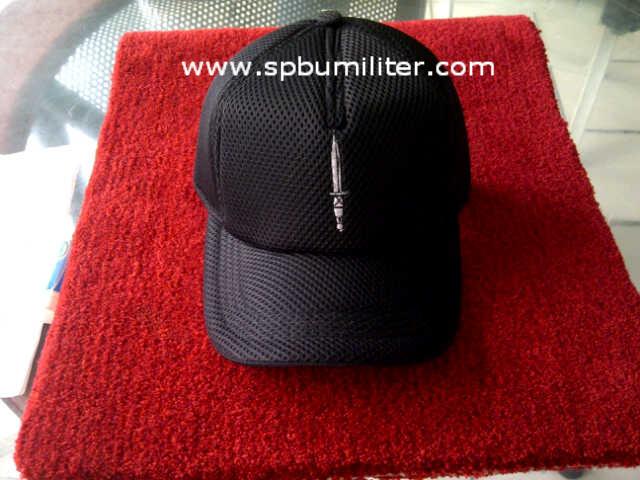 topi komando hitam