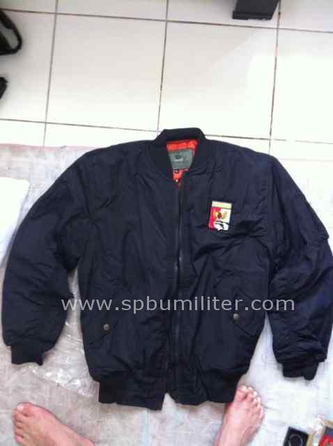 jacket parasut perbakin