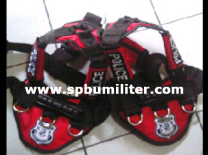 harness anjing red