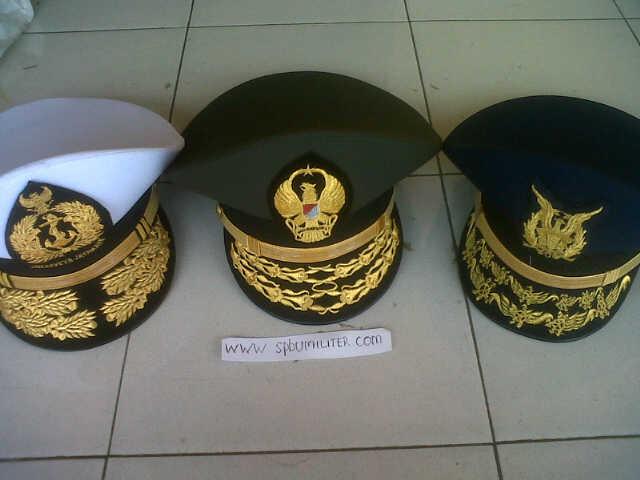 topi dinas tni semua angkatan