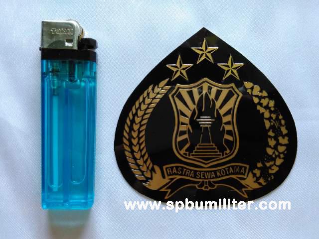 stiker polri logo