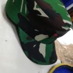 TOPI JENDRAL TNI BINTANG 2 LORENG SISTEM VELCRO