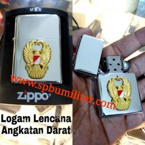 KOREK API ZIPPO LOGO TNI AD TIMBUL